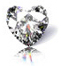 Heart This shape characteristically appears like the heart icon and has a nearly round pavilion. If a heart shaped diamond is well cut, it provides a beautiful brilliance back out of the diamond. The suggested length to width ratio is 0.9-1.2:1